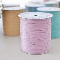 1PCS DIY Knitting For Hats Woven Thread 100 Cotton Grass Yarn Hand Crocheted Basket Rug Blanket