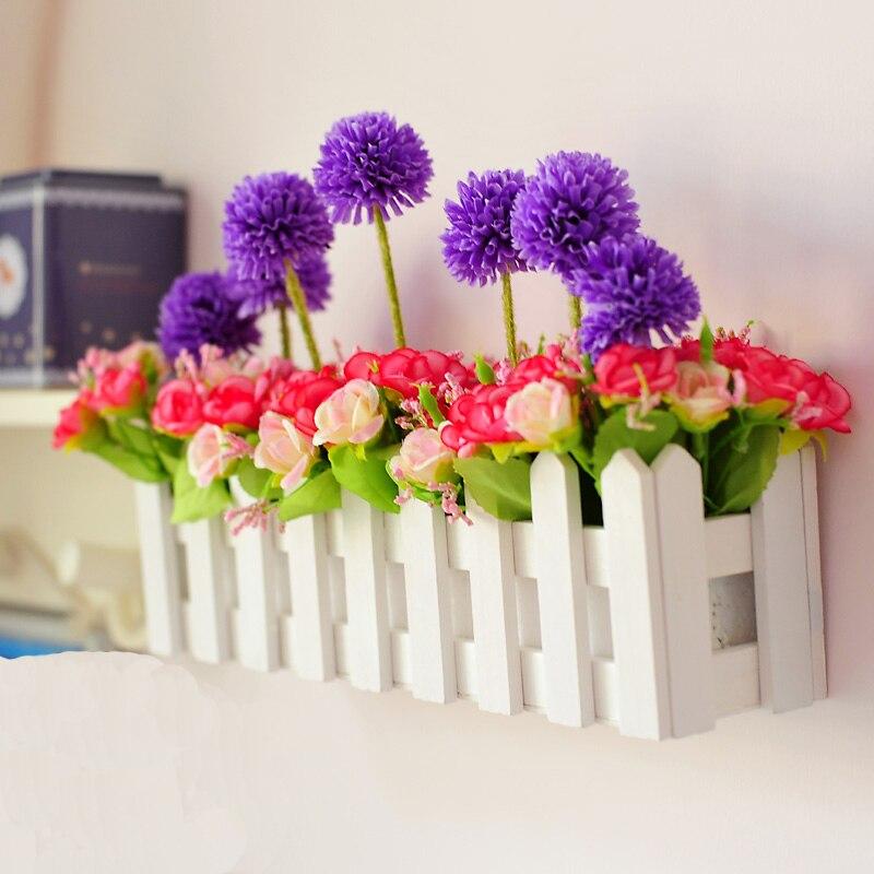Bonsai Bunga Buatan Set Plastik Hiasan Meja Makan Batang Sutra Di Kering Dari Rumah Taman Aliexpress Alibaba Group