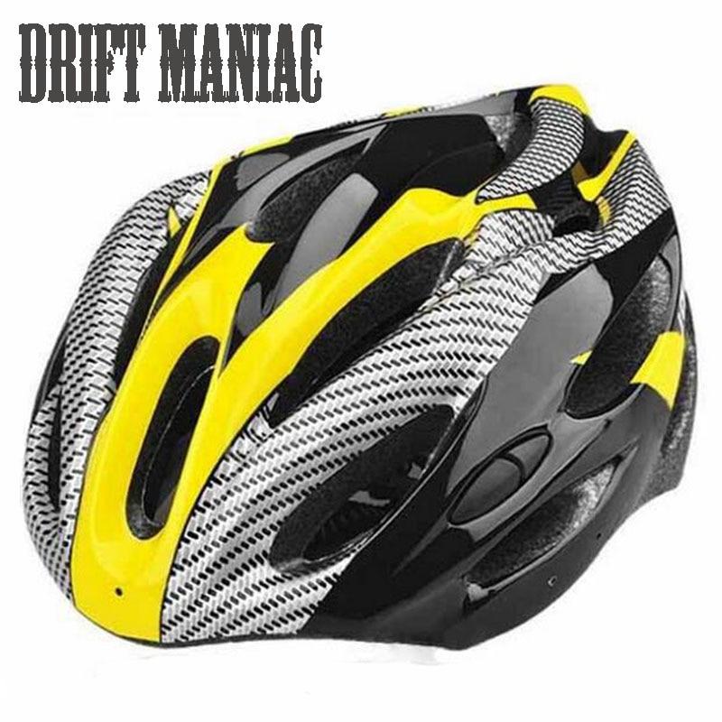 Baomain Adult Cycling Bike Helmet For Men Women Yellow Black