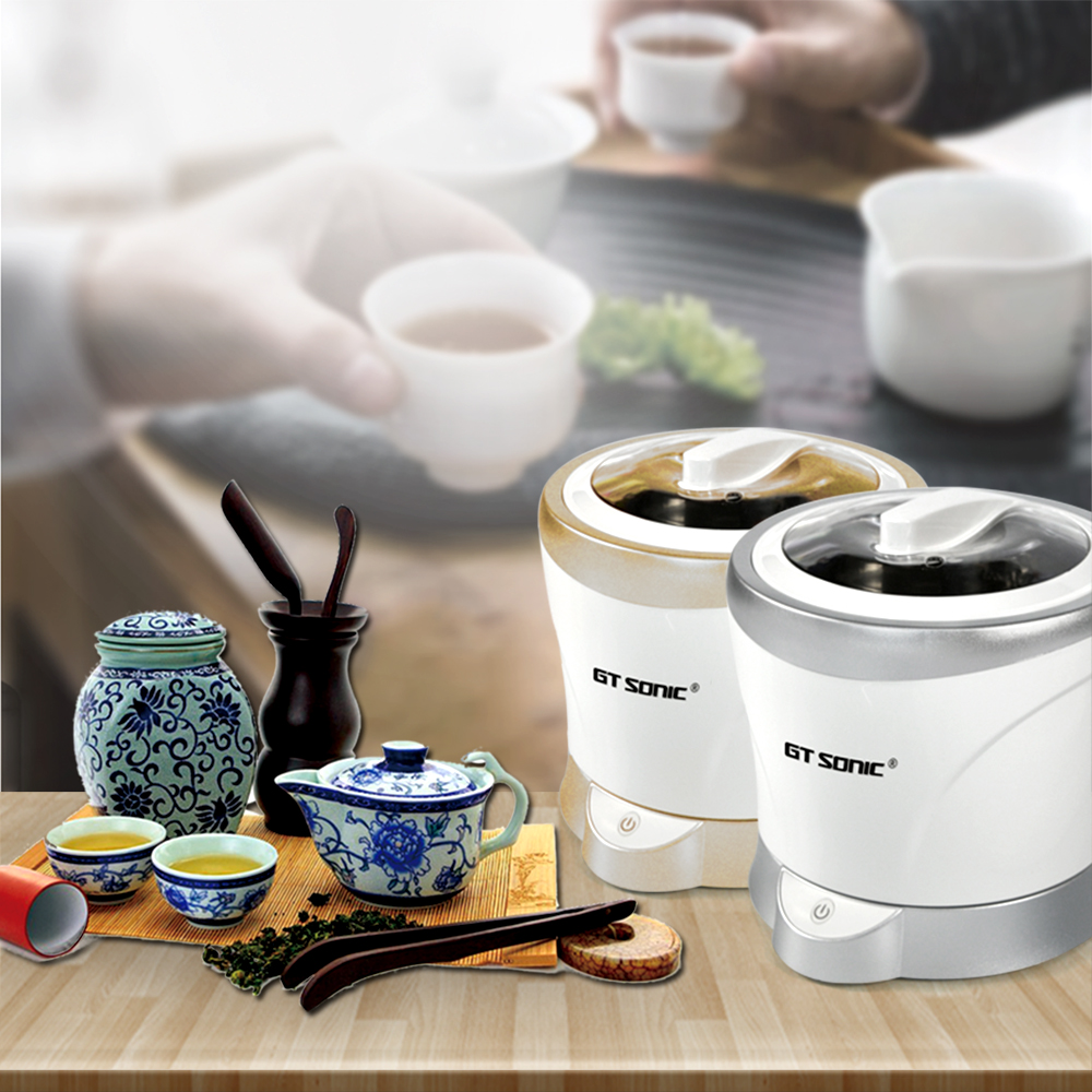 Mini Household Tea Cup Tea Set Coffee Cup glass bottle goblet ultrasonic jewelry rings timepieces cleaner tank cleaning machine amsterdam tea set 6 cup royal blue