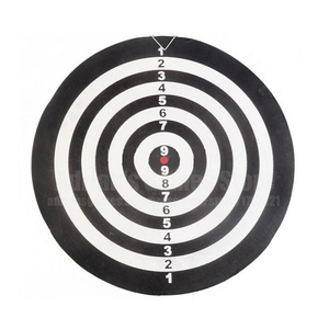 Image 3 - 6 Darts & Darts Board Set 12/15/17 Inch Familie/Kantoor Spel Dartbord Sport Oefening Darts Spel