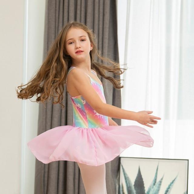 Rainbow Unicorn Sleeveless Dress