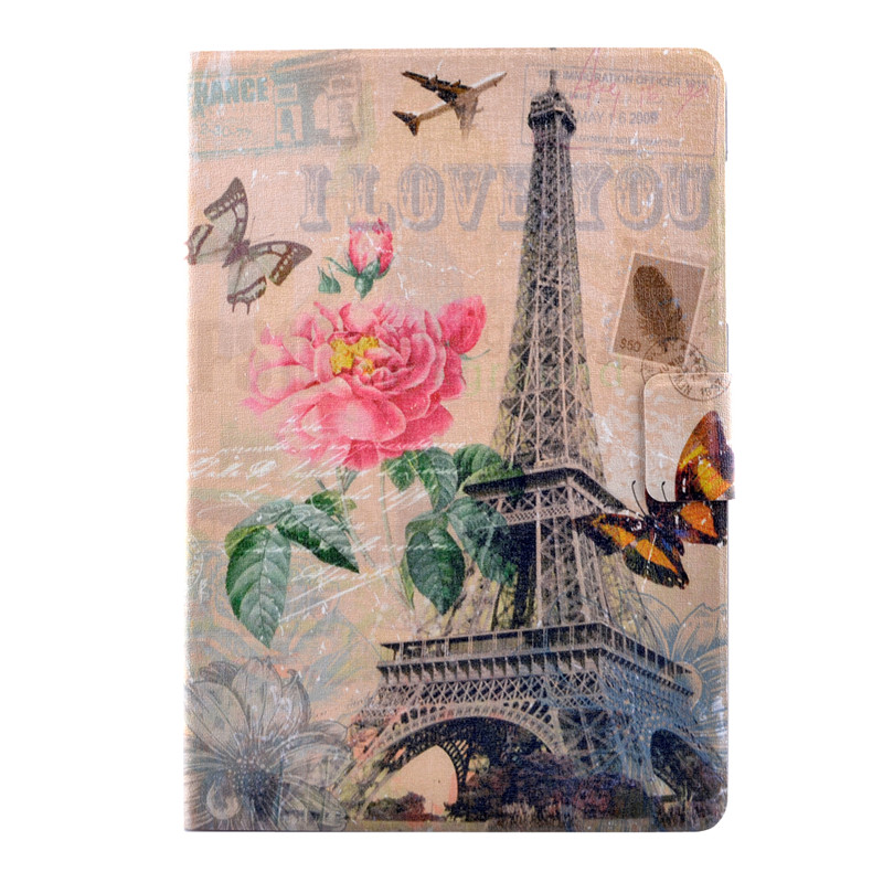 Cover Coque For Samsung Galaxy Tab A SM-T550 Cartoon Leather Fundas Case For Samsung Galaxy Tab A 9.7'' T550 T555 Covers Cases