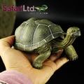 2005 Safari Ltd Novo Original Galápagos Tartaruga Adulta Simulado Animal Selvagem Modelo De Longo 22 cm