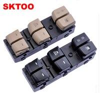 SKTOO For Hyundai Long move regulator switch / left front door power window control button accessories