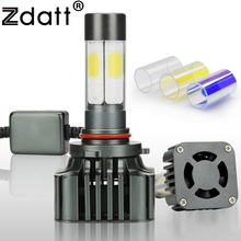 Zdatt 360 Degree Lighting 100W 12000LM 9006 HB4 Led Bulb Auto Fog Light Headlight Car Led Light 12V Conversion Kit Automobiles