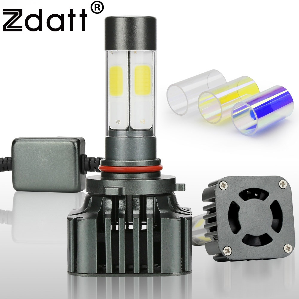 Zdatt 360 Degree Lighting 100W 12000LM 9006 HB4 Led Bulb Auto Fog <font><b>Light</b></font> Headlight Car Led <font><b>Light</b></font> 12V <font><b>Conversion</b></font> Kit Automobiles