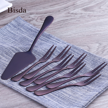 9 Pieces Stainless Steel Cake Forks