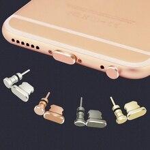 Metal 3.5mm Jack Headphone Port Anti Dust Plug For iPhone 7 X 6S Plus Xs Max Sto