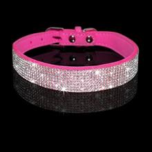 POPOKi Adjustable Glittering Pet Collar Leash Set 5colors