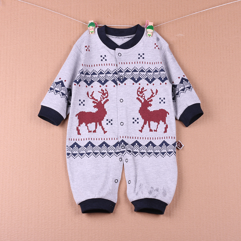 Joyo roy Baby Rompers Jesień Długi rękaw Noworodek Piżama i - Odzież dla niemowląt - Zdjęcie 3