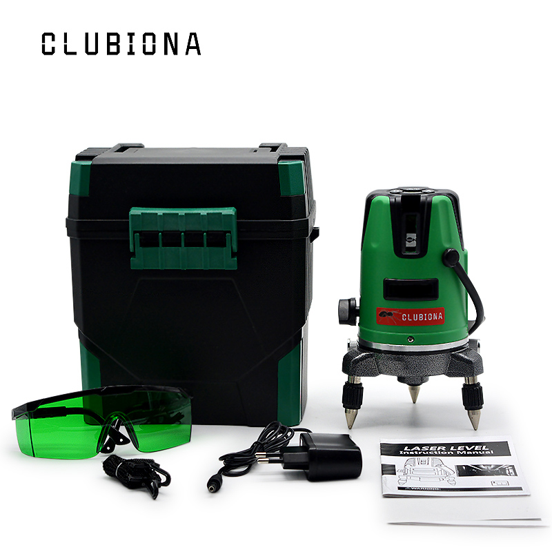 EU plug 2 Lines 1V1H 360 rotary Self-leveling tilt functional Construction Diagnostic-tool GREEN Cross Line Laser eu plug tilt functional 5 cross lines 6 points self leveling 360 degree rotary red beam cross line laser with its tripod