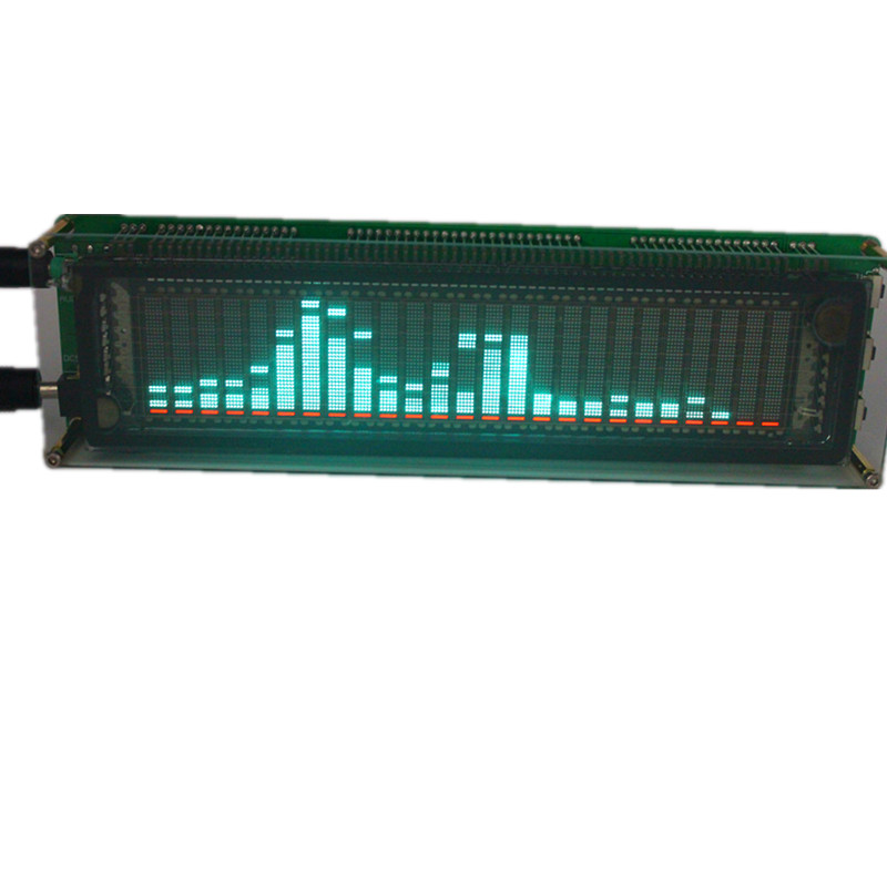 AK2515 VFD Music Audio Spectrum 15 Level Indicator VU Meter Screen For Amplifier title=
