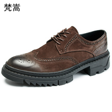 all-match cowhide bullock Carved pring mens luxury shoes men designer Lace-Up Business Men Shoes,Men Dress Shoes