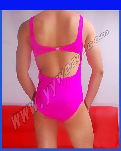 Male Underwear Shapers Men's Leotard Bodysuits Tight Suits Button Men New