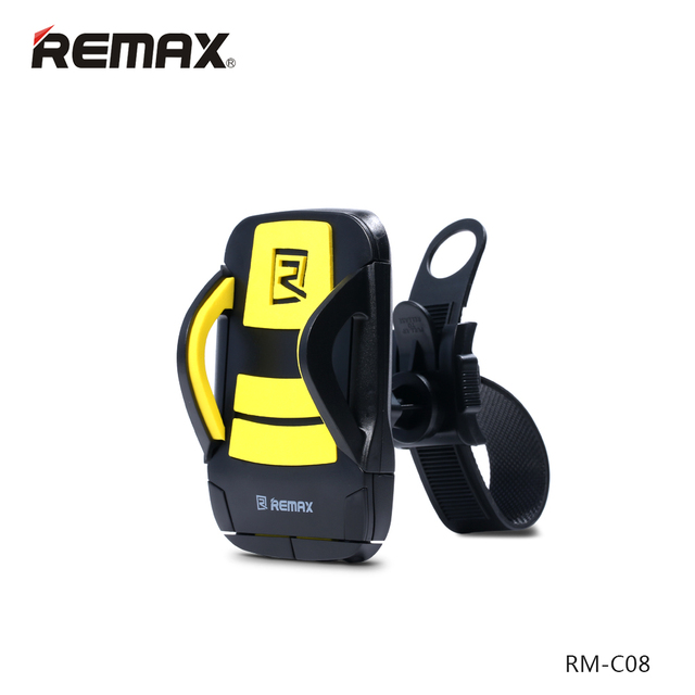 REMAX  RM-C08 Bicycle Bike Phone Holder Stand for iPhone4S 5 6 plus Samsung Galaxy S4 S5 S6 Note j5 Huawei P8 Lite Xiaomi GPS