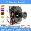 2 0MP IPC 1080P ONVIF P2P 1 2 7 HI3516C OV2710 Night Vision CCTV Network Surveillance