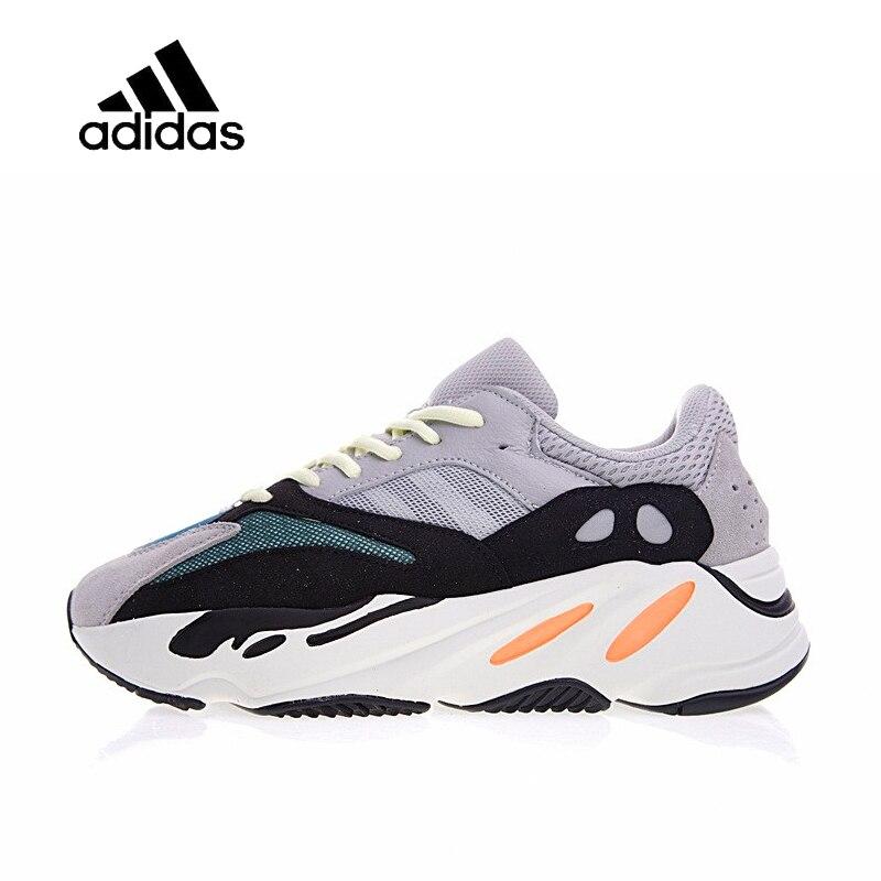 Оригинальный Новое поступление Официальный Adidas Yeezy бегун Boost 700 Мужские Женские Кроссовки Спорт на открытом воздухе кроссовки хорошее качес