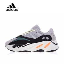Оригинальный Новое поступление Официальный Adidas Yeezy бегун Boost 700 Мужские Женские Кроссовки Спорт на открытом воздухе кроссовки хорошее качество B75571