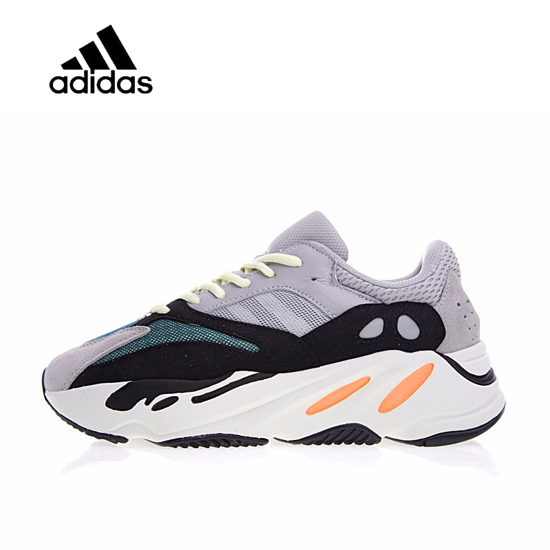 Original nueva llegada oficial Adidas Yeezy corredor Boost 700 para mujer para Hombre Zapatos de deportes al aire libre, zapatillas de deporte de buena calidad B75571