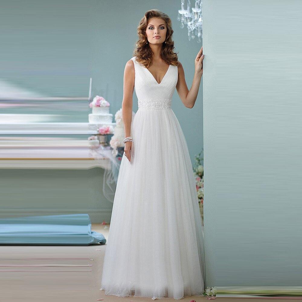 Popular elegant simple wedding dresses buy cheap elegant for Simple elegant wedding dresses cheap
