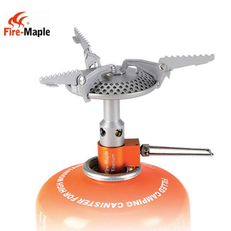 Fire Maple FMS-116 outdoor camping gas stove head one piece stoves ultra-light садовый пылесос воздуходувка mtd bv 3000 g