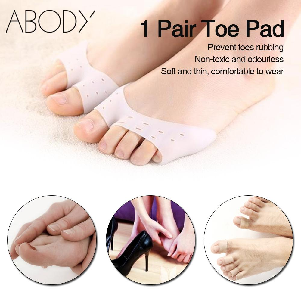 Silky Open Toe Sole Cushion Pads 2 Pairs|Foot Care|4-7