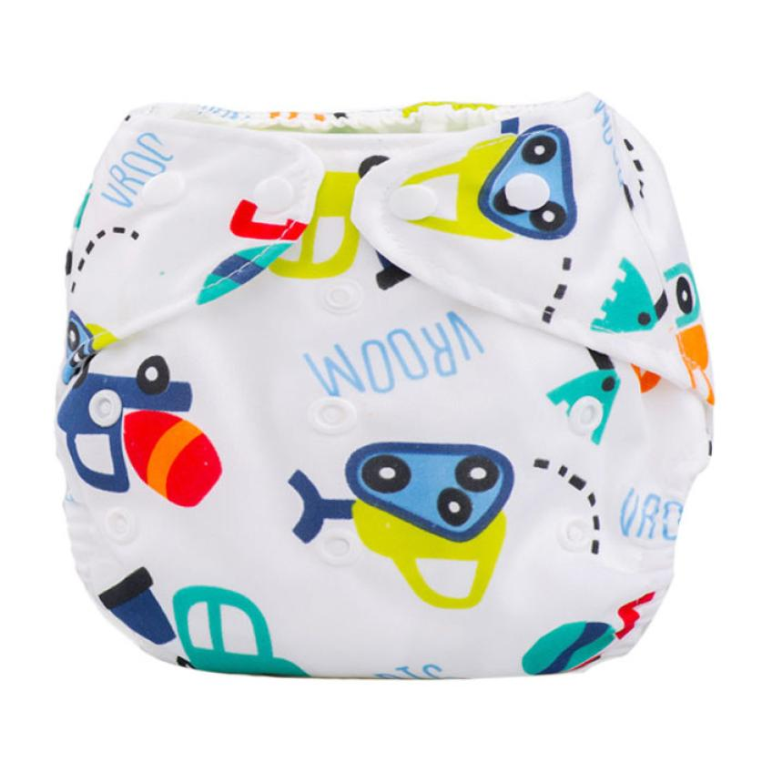 Diaper Cover 2017 Newborn Baby Summer Cloth Diaper Cover Adjustable Reusable Washable Nappy fralda fralda #15