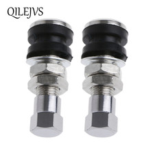 1 Pair Tire Wheel Valve Tubeless No Tube Stem Motorcycle Car Bike ATV Bicycle