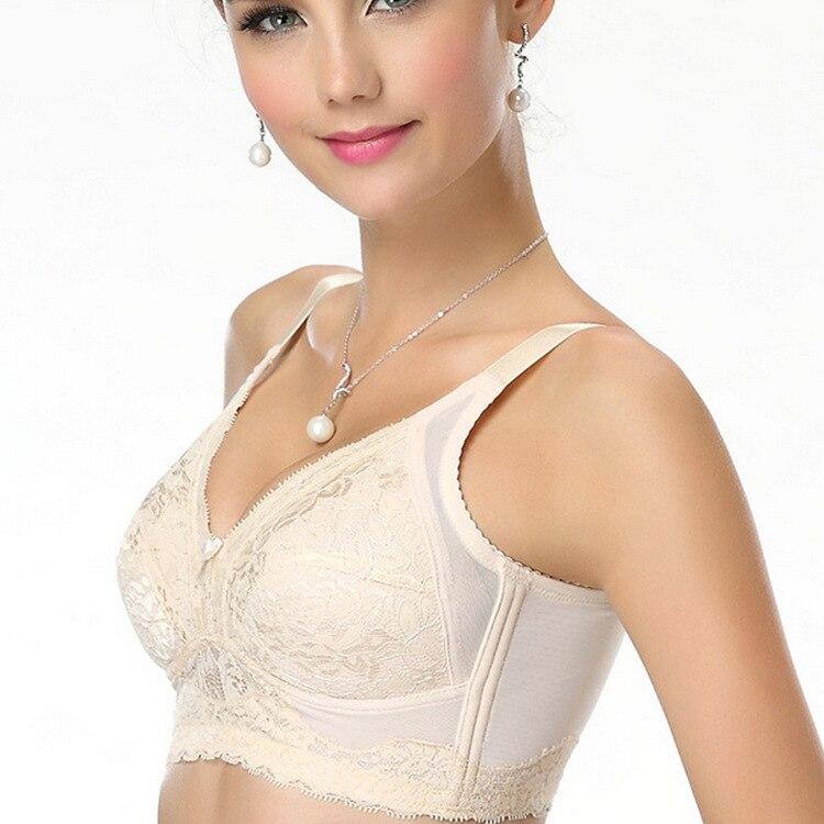 Image 2 - Mozhini 38 40 42 44 85 90 95 B C D E F G big size bra Female underwear push up Bra big large size bra big size bra for women-in Bras from Underwear & Sleepwears