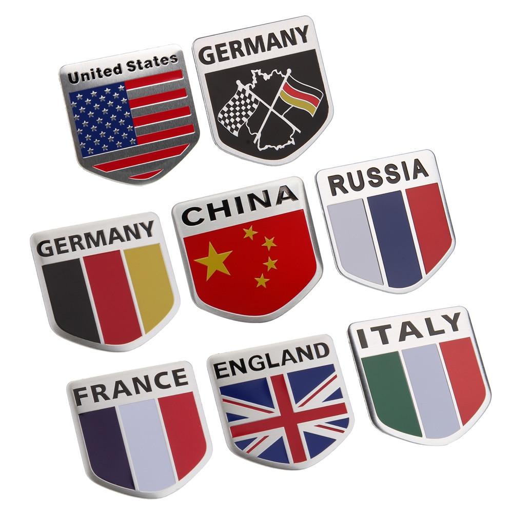 Official Website Car Styling Sport Logo Car Sticker Emblem Badge Decal For Land Rover Audi Bmw Toyota Honda Ford Volkswagen Mercedes Benz Mazda Car Stickers