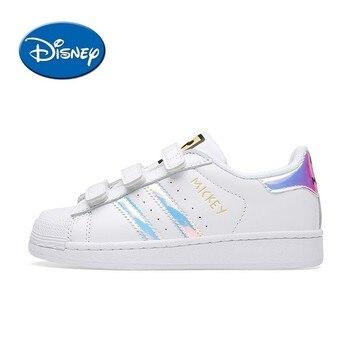 Disney çocuk ayakkabı orijinal yeni varış nefes hafif çocuk kaykay ayakkabı spor ayakkabı #00009|Tenis Ayakk.|   -