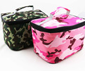 2017 new camouflage cooler bag pink and green thermal food storage bag thick insulated bag