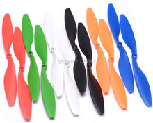"6 Pairs/12pcs ABS 10x4.5"" 1045 1045R CW CCW Propeller For 550 FPV Multi-Copter RC QuadCopter APC Promotion"