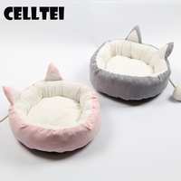 Ins HOT item Dog Pet Winter Warmer Basket Bed Cushion Puppy Dog Bed cat bed Sleeping Cushion Dog & cat Mat Supplies