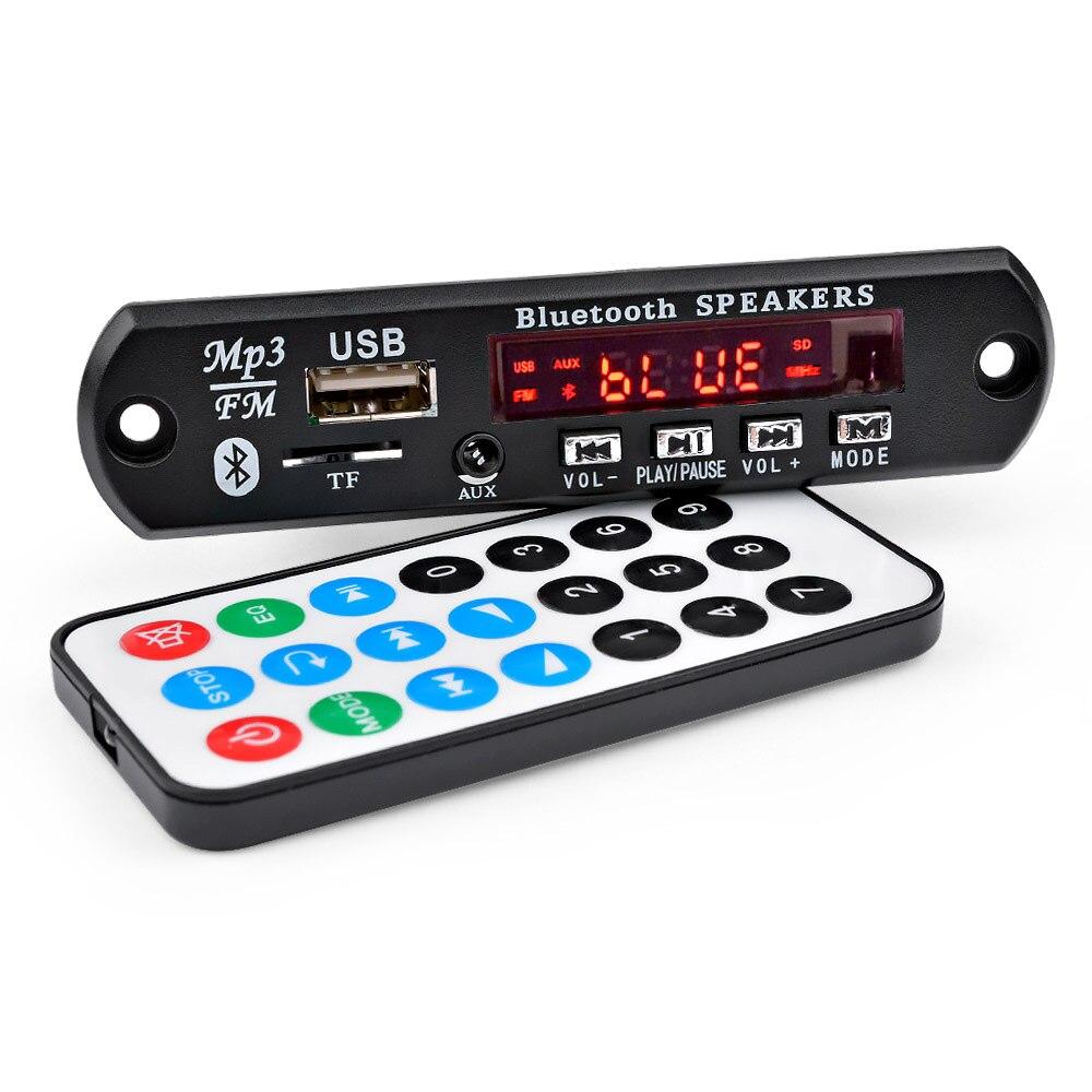 AIYIMA 15Wx2 Placa Amplificadora MP3 Decodificador Bordo Do Bluetooth Bluetooth 5.0 Receptor de Áudio WAV APE FLAC Decodificação USB TF FM AUX
