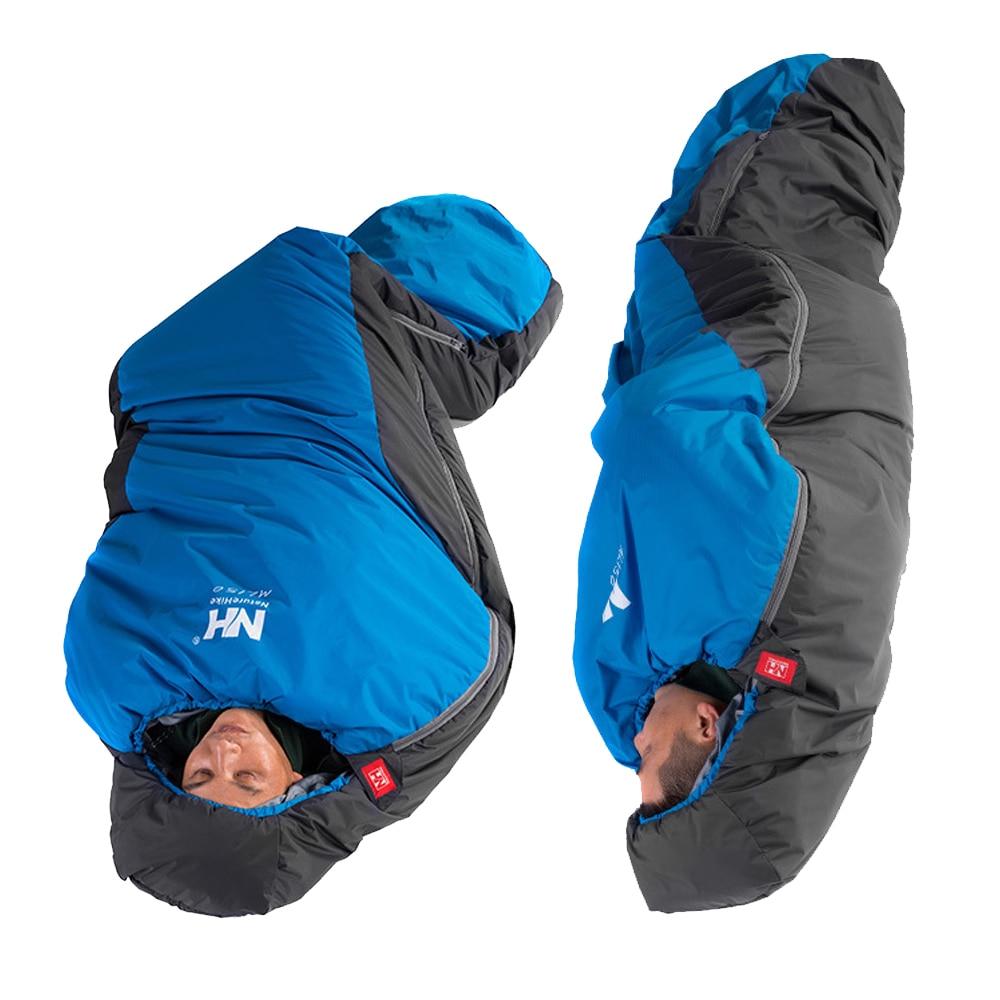 Hiking Professional 300 Mummy Sleeping Bag 3-4 Season for Camping Outdoors