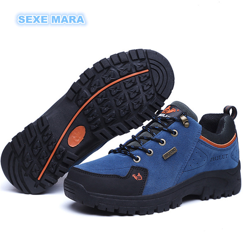 New Trend Autumn Winter Outdoor Sneakers Sports Shoes Women and Men antiskid Off-road Waterproof performance Trainers Walking