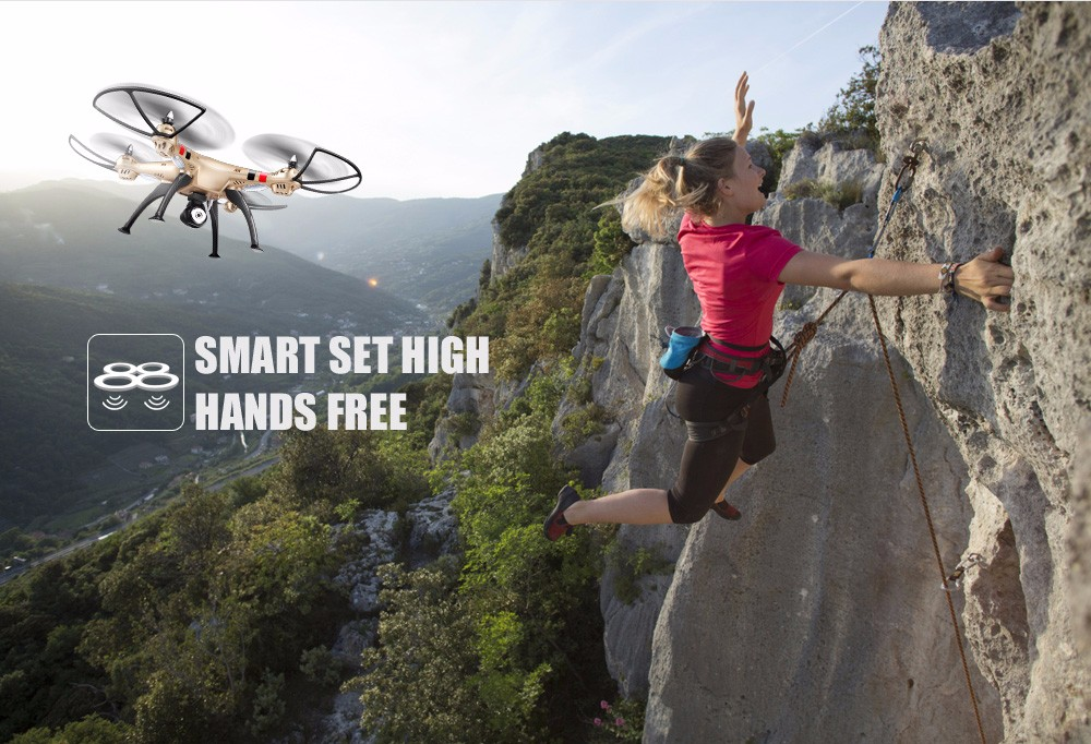 SYMA Official X8HW FPV RC Drone with WiFi HD Camera Real-time Sharing Drones Helicopter Quadcopter Dron with Hovering Function 6