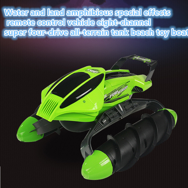 4WD High Speed rc tank 989-393 2.4GHz Amphibious Stunt Waterproof All-terrain Sand Lake Pool Grass Snow Slippery Road tank gifts
