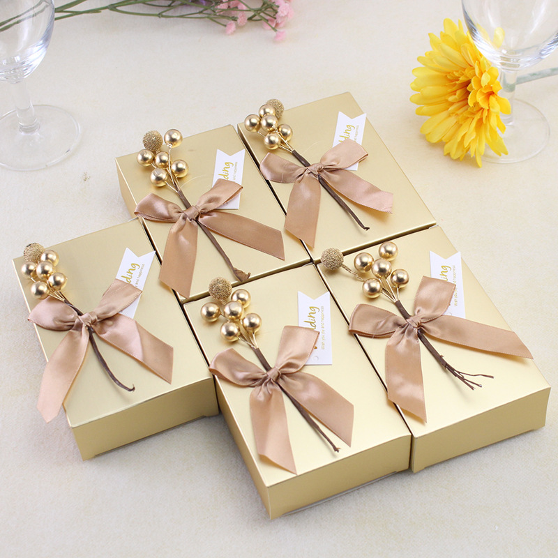 2019 Ins Creative Wedding Favors Supplies Candy Boxes Chocolates