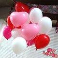 100 Шт./пакет Сердце Сладко Шар Большой 1.5 г Красочные Латексные Шары На День Рождения Свадьба Воздушные Шары Украшение Партии