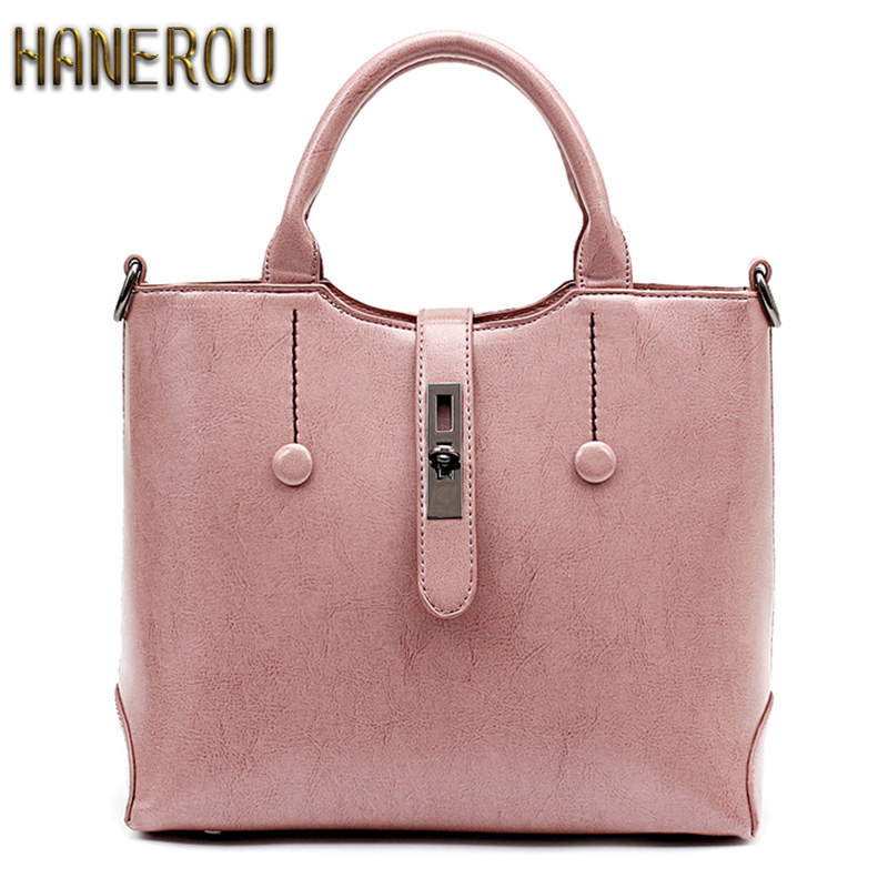 Famous Brand Ladies Hand Bags PU Leather Women Bag Casual Tote Shoulder Bags  Sa