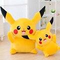 25 cm Anime Toypia Pokemon Pikachu Brinquedos De Pelúcia Muito Bonito Presente para As Crianças do Japão Bonito Dos Desenhos Animados Pikachu Bonecas Livre compras