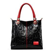 Luxury Handbags 2019 Fashion Women Bags Designer Handbag Vintage Embossed Letter Bag Shoulder Bag Women Leather Large Tote Sac цена 2017