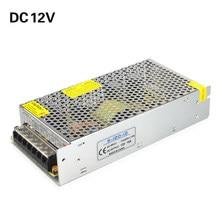 Güç kaynağı DC 12V LED sürücü 1A 3A 5A 8A 10A 15A 20A 30A 40A aydınlatma trafo anahtarı adaptörü şerit ışık için LED sürücü
