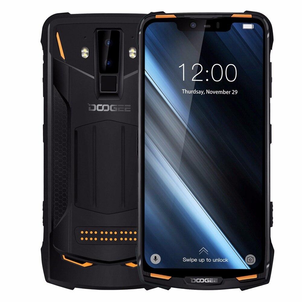 Téléphone portable robuste modulaire IP68/IP69K DOOGEE S90 6.18 ''FHD + écran intégré Helio P60 Octa Core 6 GB 128 GB Android 8.1 16 M Cam - 2