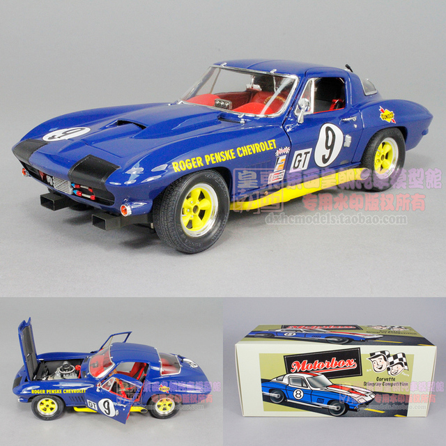 US $602 26 |Special EXOTO 1:18 Corvette stingray 1966 Sebring race car No   9 model-in Diecasts & Toy Vehicles from Toys & Hobbies on Aliexpress com |