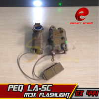 EX444 Element Airsoft LED Light Tactical Kit Includes LA 5C PEQ M3X Flashlight Double Remote Control