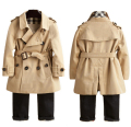 Big Size!!! 3-10Yrs Boys&Girls Cotton jacket&Coat,.Girls Spring Solid Trench Coat,Boys warm fashion jacket,Kids Casual outwear